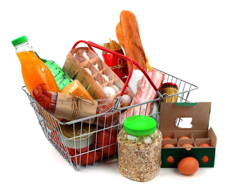 карзинка продуктов